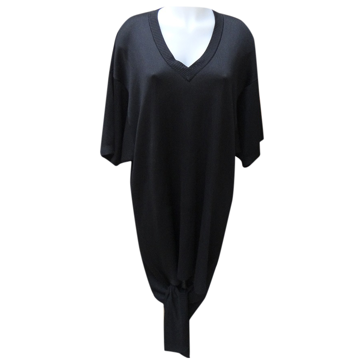 Balenciaga \N Kleid in  Schwarz Synthetik