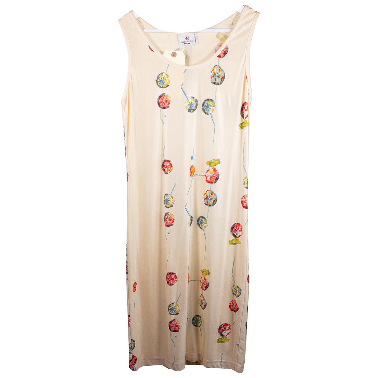 Sonia Rykiel N Ecru dress for Women 38 FR