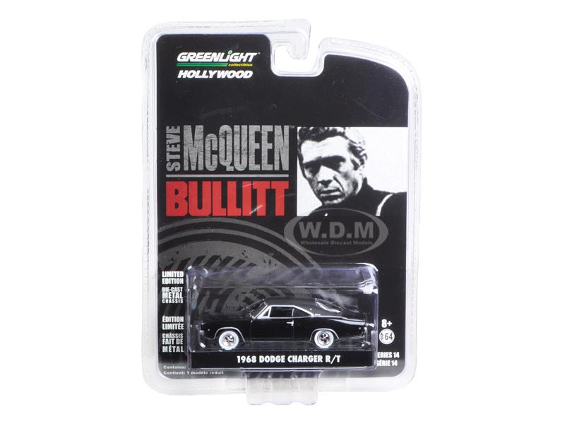 1968 Dodge Charger R/T Bullitt (1968) Movie 1/64 Diecast Model Car by Greenlight