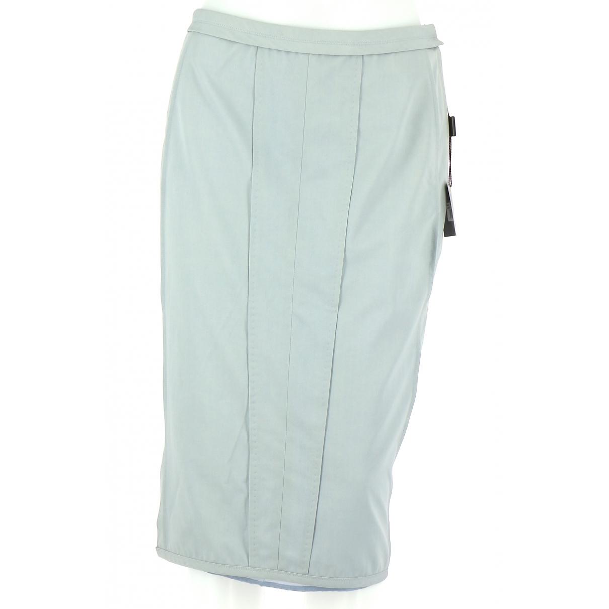 Narciso Rodriguez \N Blue Wool skirt for Women 38 FR