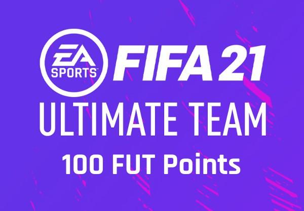 FIFA 21 - 100 FUT Points Origin CD Key