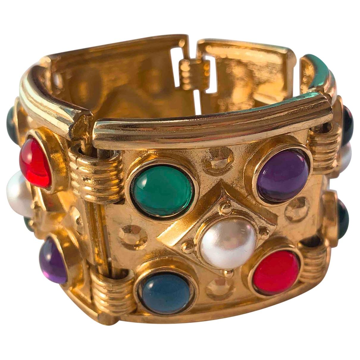 Ben-amun - Bracelet   pour femme en plaque or - multicolore
