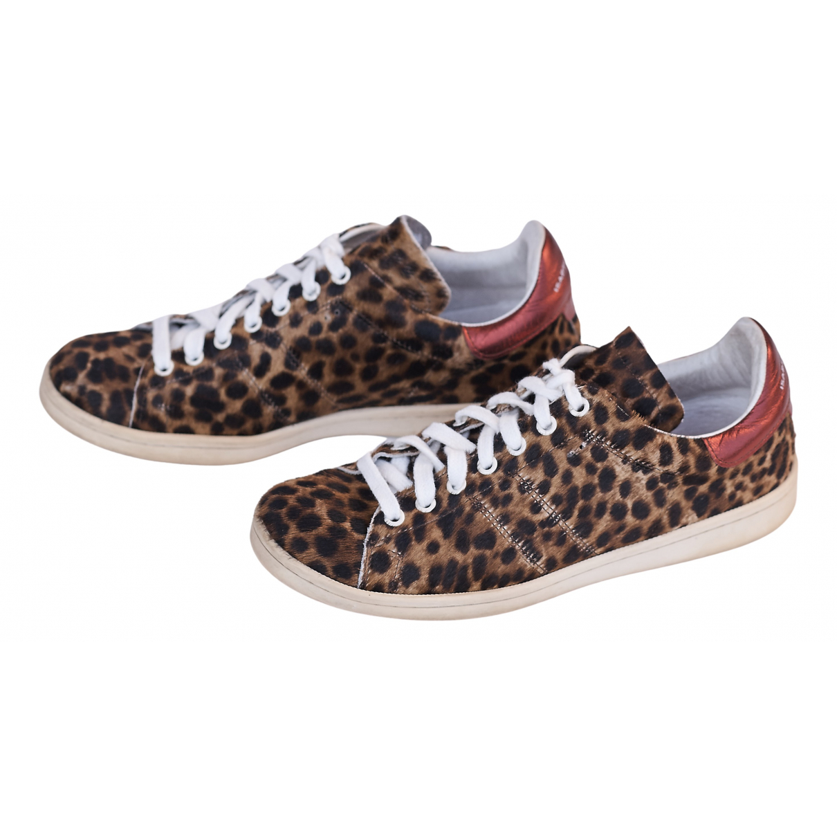 Isabel Marant Bart Camel Pony-style calfskin Trainers for Women 40 EU