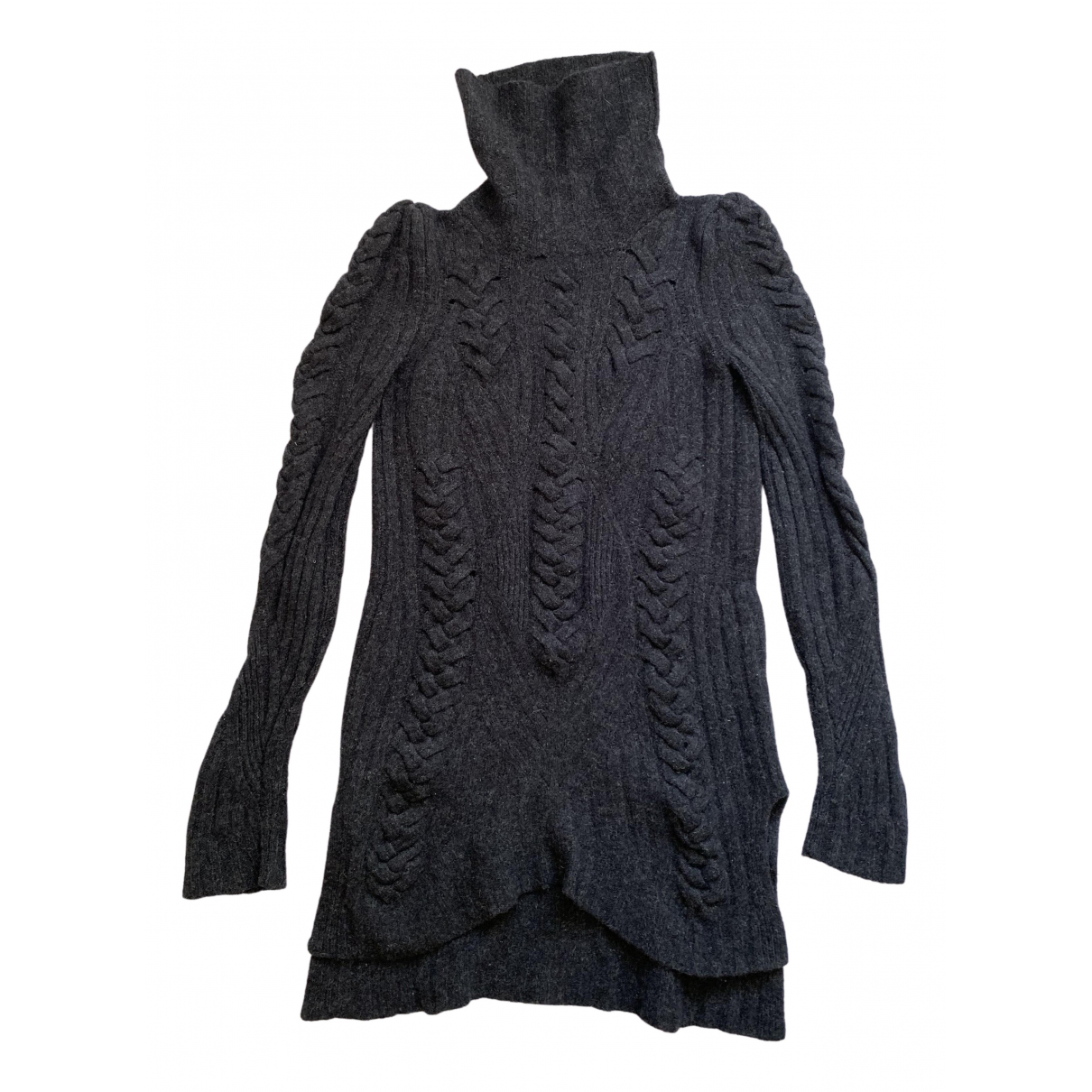 Celine \N Pullover in  Anthrazit Wolle