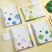 1 pieza cuaderno con estampado de dibujo