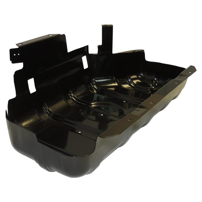 Crown Automotive 52100219AB Jeep Replacement Fuel Tank Skid Plate, Black Jeep Fuel Tank 1997-2006