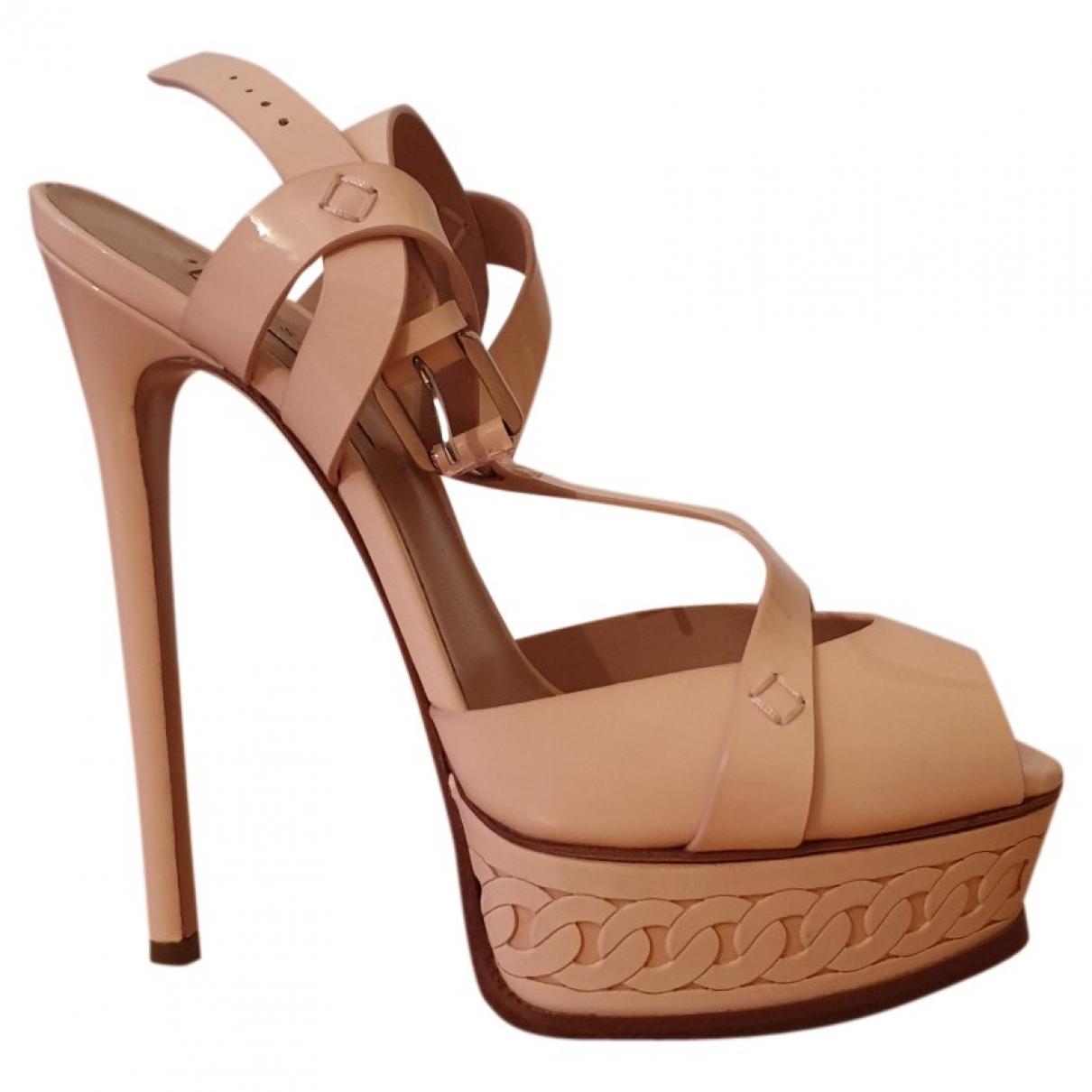Sandalias de Charol Casadei