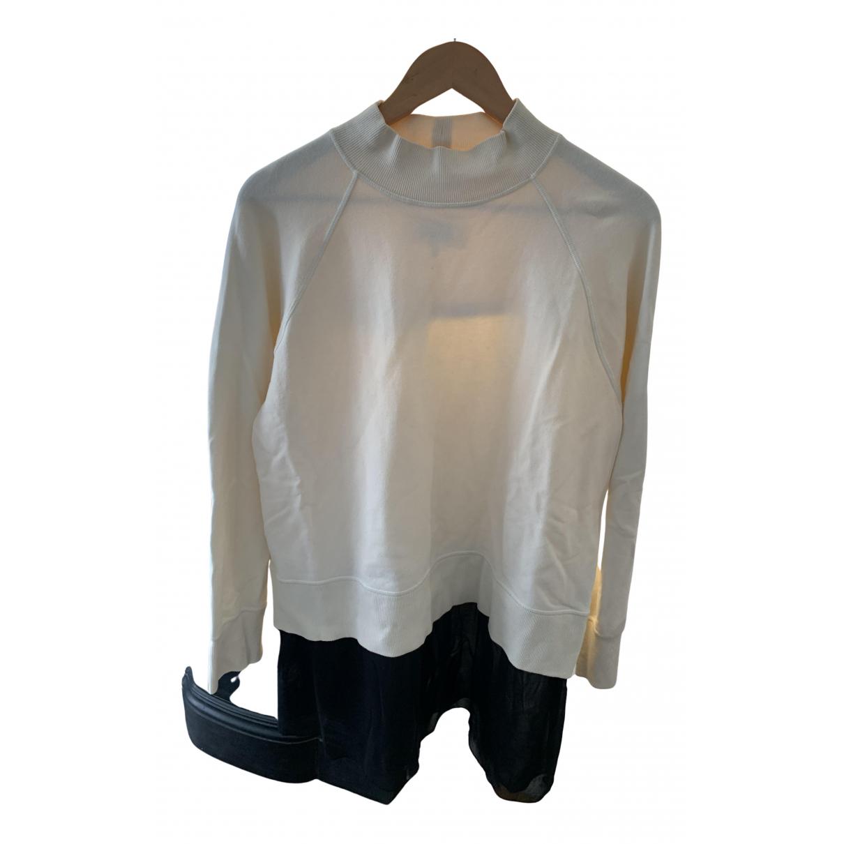 Mm6 \N Pullover in  Beige Baumwolle