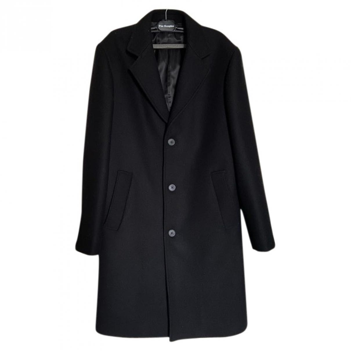 The Kooples \N Black Wool coat  for Men S International
