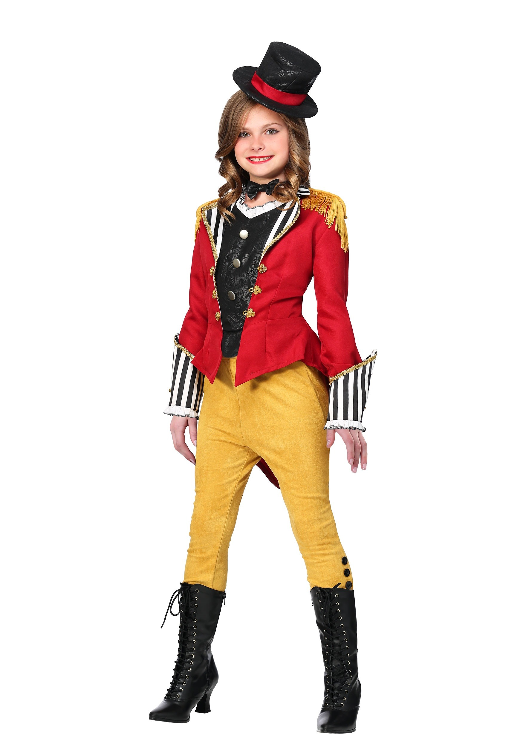 Ravishing Ringmaster Costume for Girls