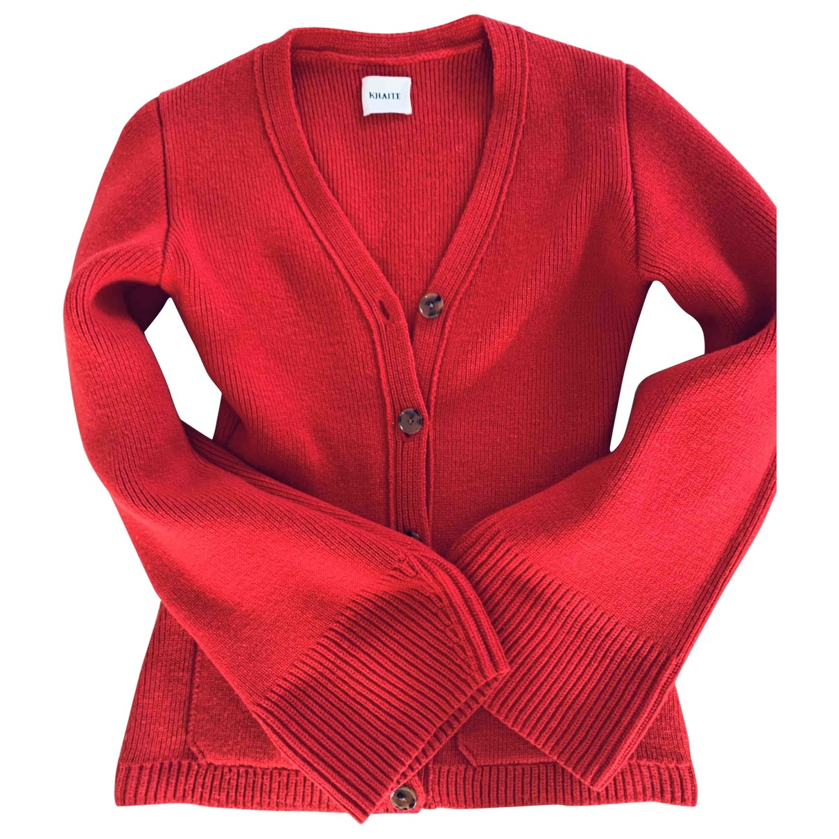 Khaite - Pull   pour femme en cachemire - rouge