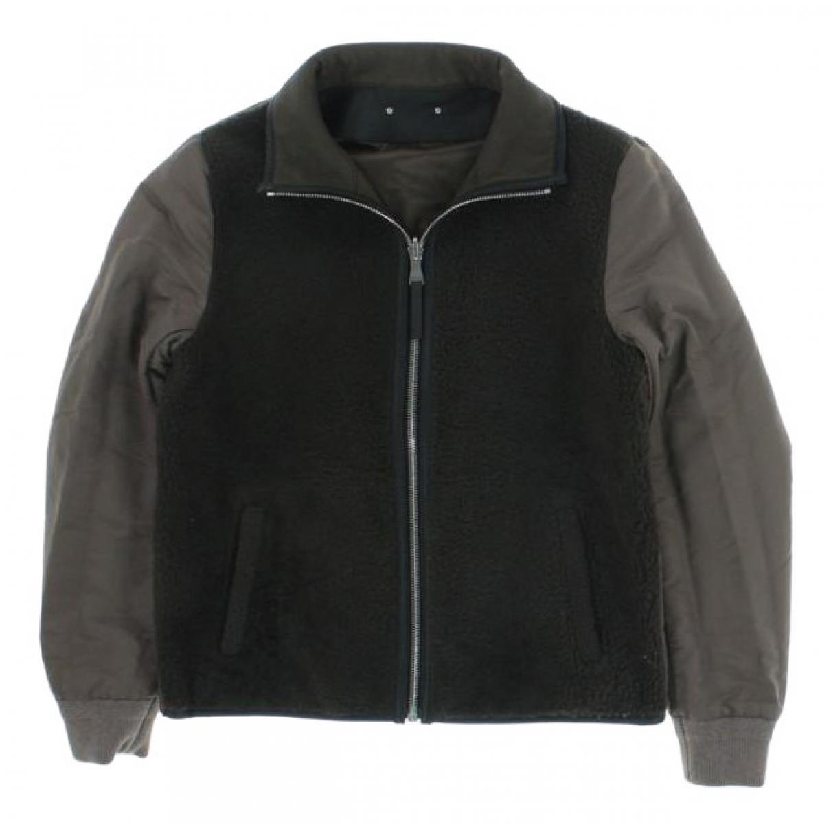 Louis Vuitton \N Jacke in  Khaki Schaf