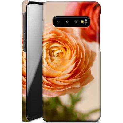 Samsung Galaxy S10 Smartphone Huelle - She Loved Flowers von Joy StClaire