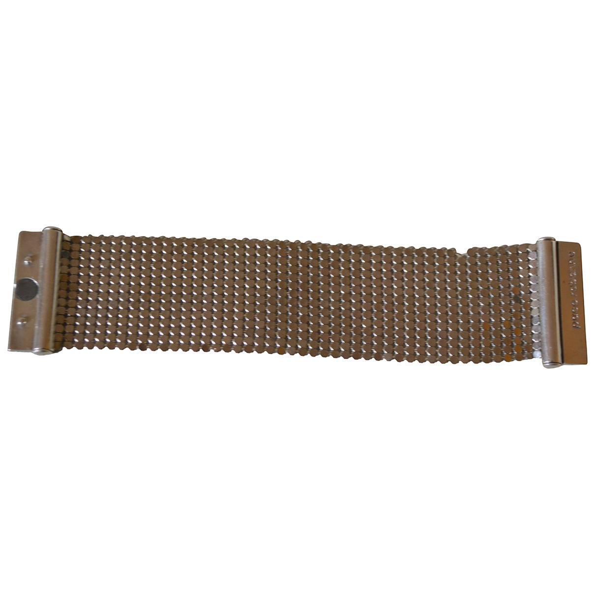 Paco Rabanne \N Armband in  Silber Metall