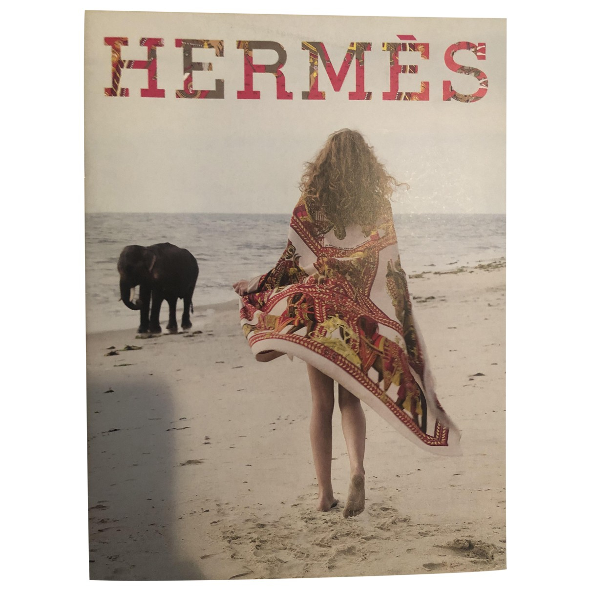 Hermes \N Mode in  Bunt Baumwolle