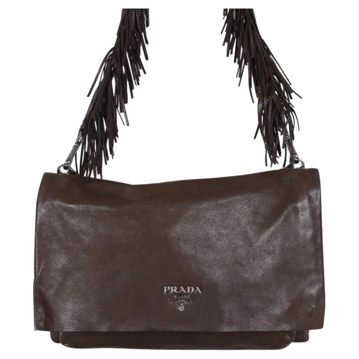 Prada \N Brown Leather handbag for Women \N