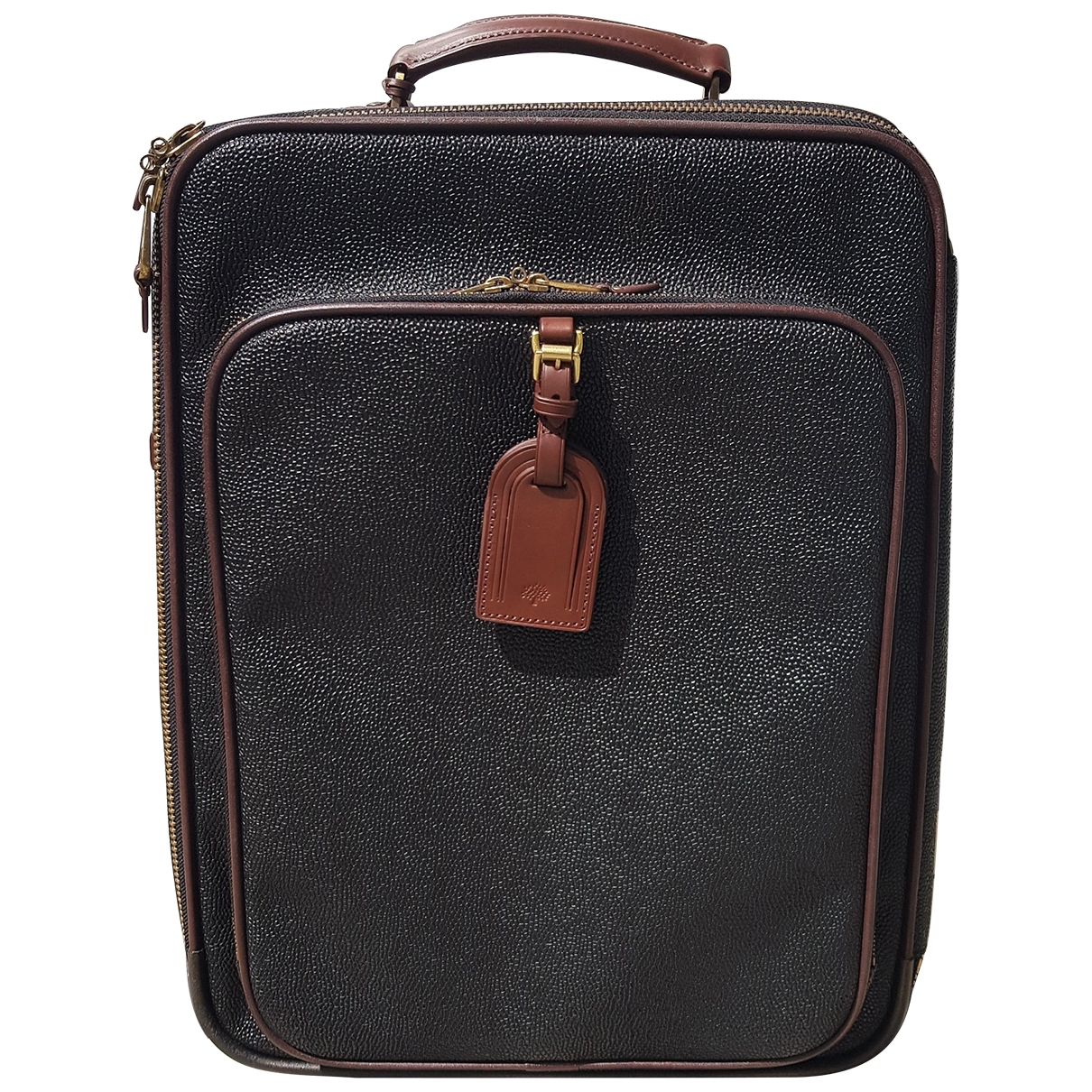 Mulberry - Sac de voyage   pour femme en cuir - noir