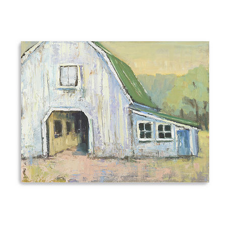 Eagle Rock Farm Giclee Canvas Art, One Size , Green