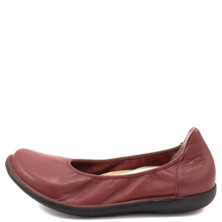 Loints of Holland, 68303 Natural Women's slip-on shoe, red Größe 36