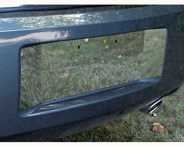 Quality Automotive Accessories License Plate Bezel Extended Dodge Magnum 2007