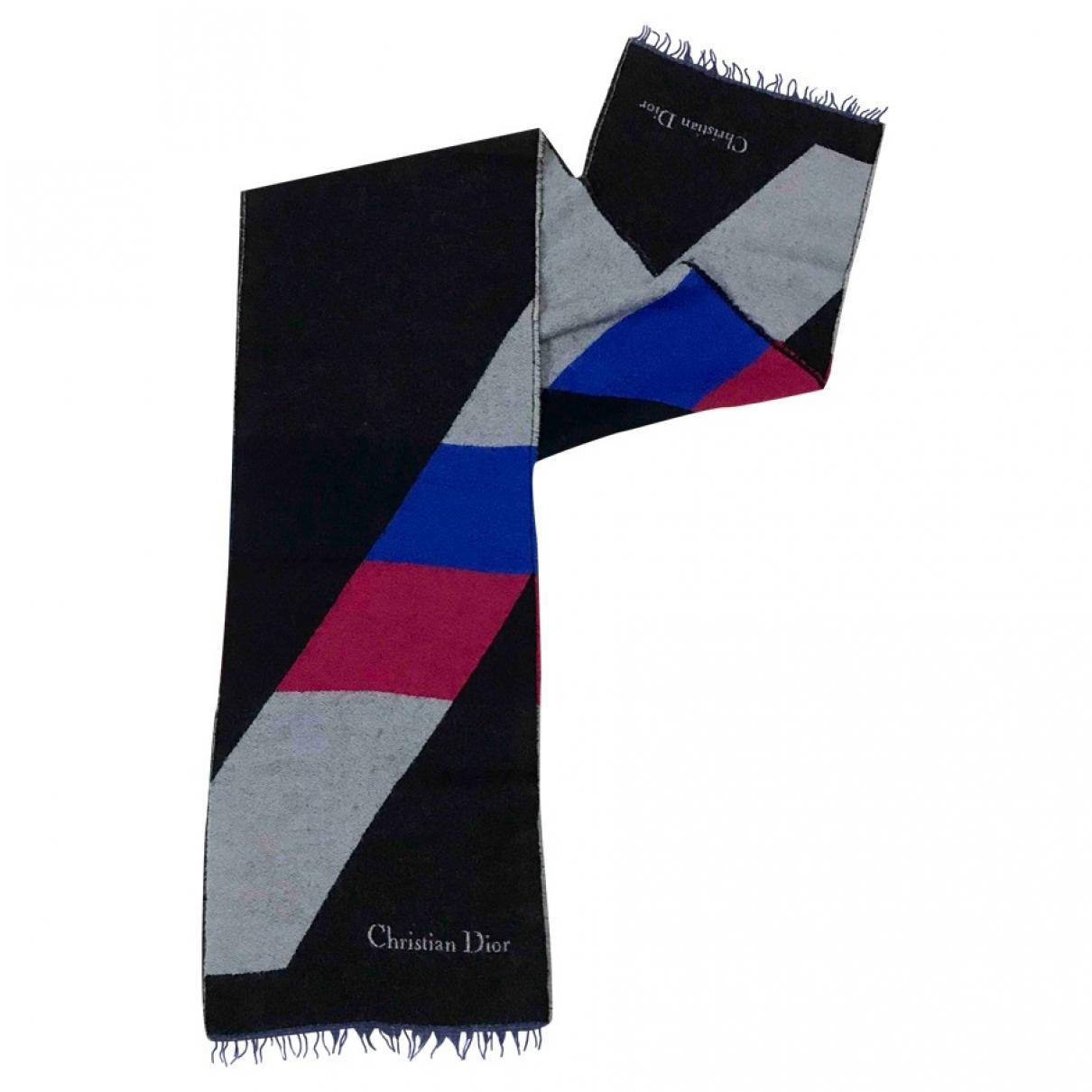 Dior - Foulard   pour femme en laine - multicolore