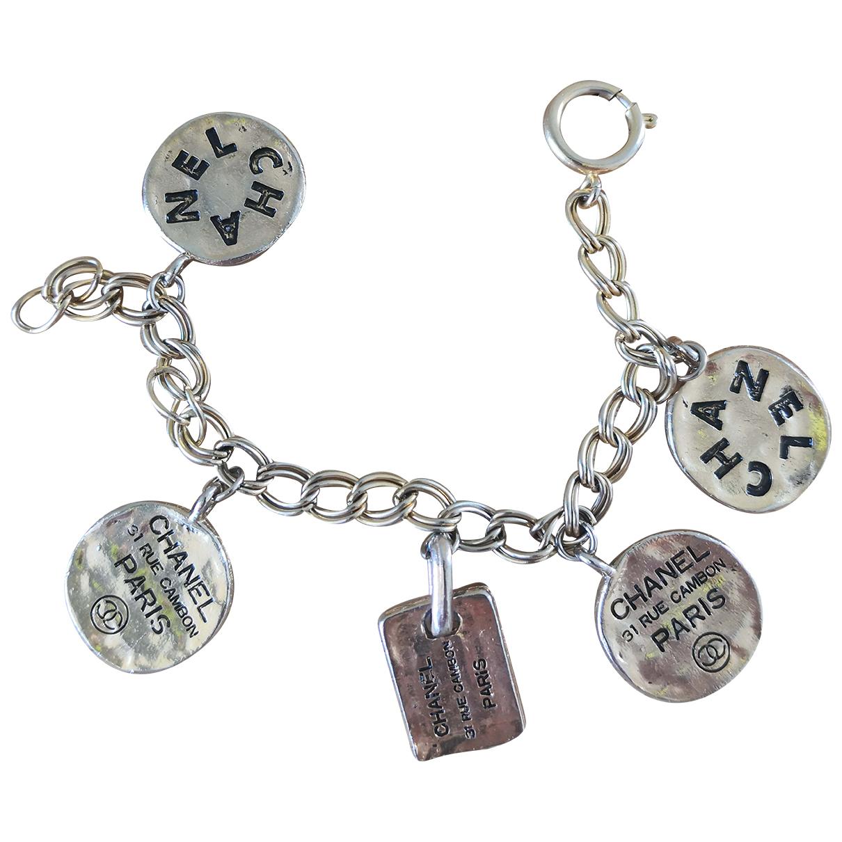 Chanel - Bracelet CHANEL pour femme en metal - metallise