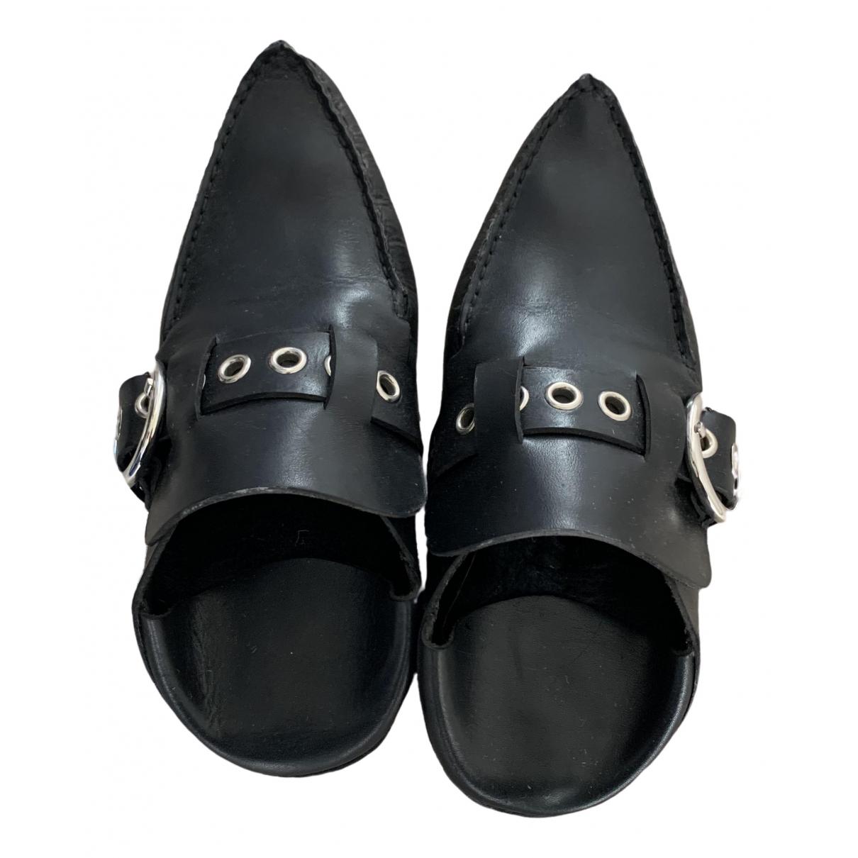 Loewe - Mocassins   pour femme en cuir - noir