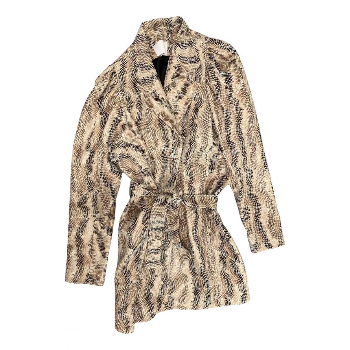 Vestido midi Oversize de Cuero Non Signe / Unsigned