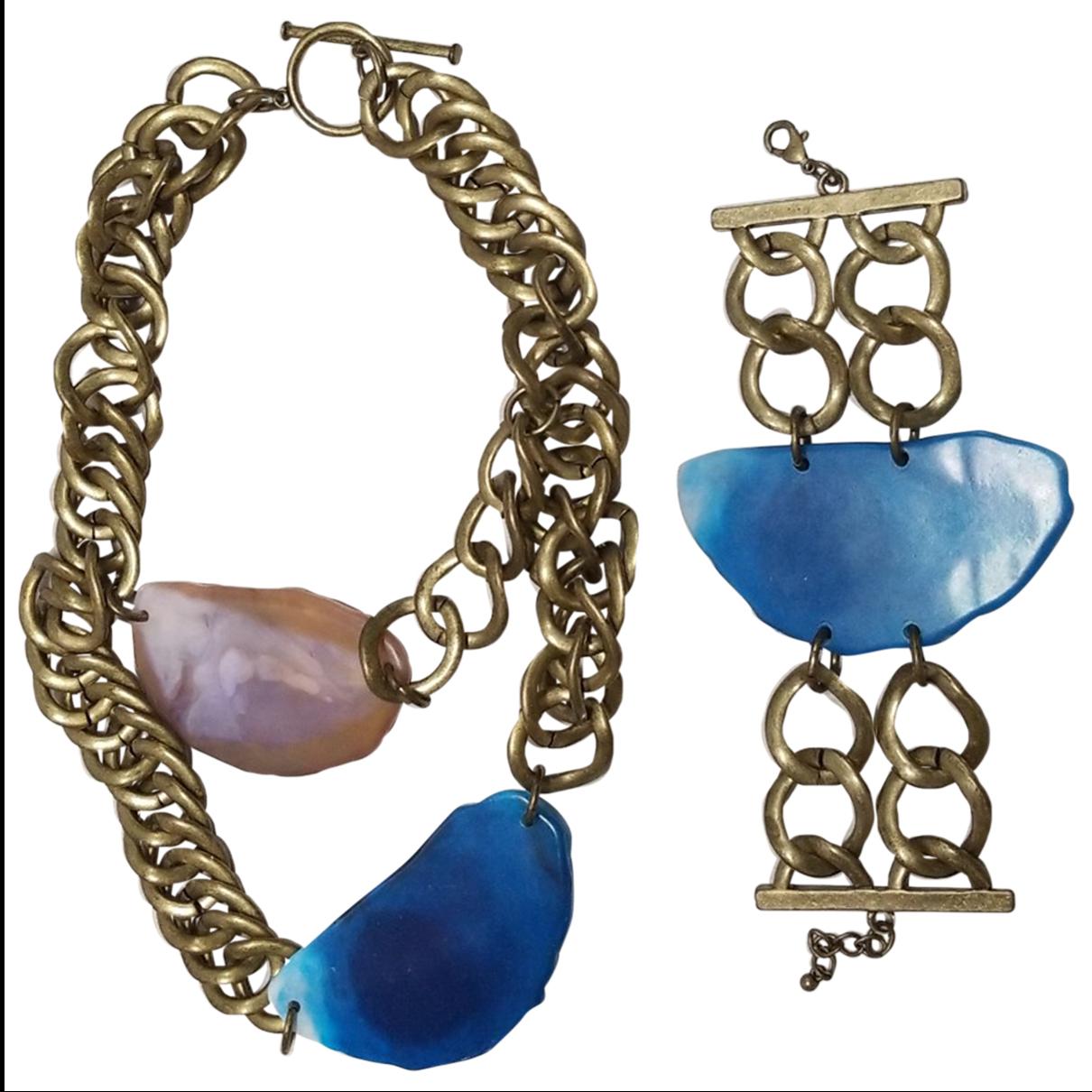Reclaimed Vintage - Collier   pour femme en metal - multicolore