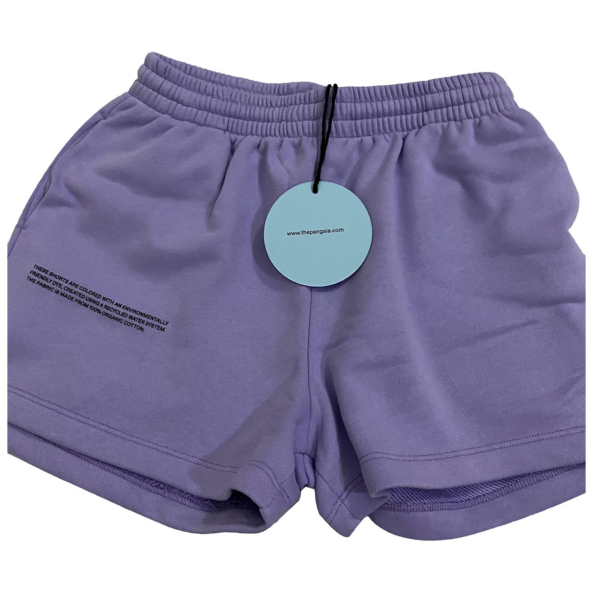 The Pangaia \N Purple Cotton Shorts for Women S International