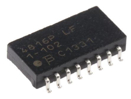 Bourns Isolated SMT Resistor Array 1kΩ ±2% 8 Resistors, 1.28W Total, SOM package 4800P Standard SMT (5)