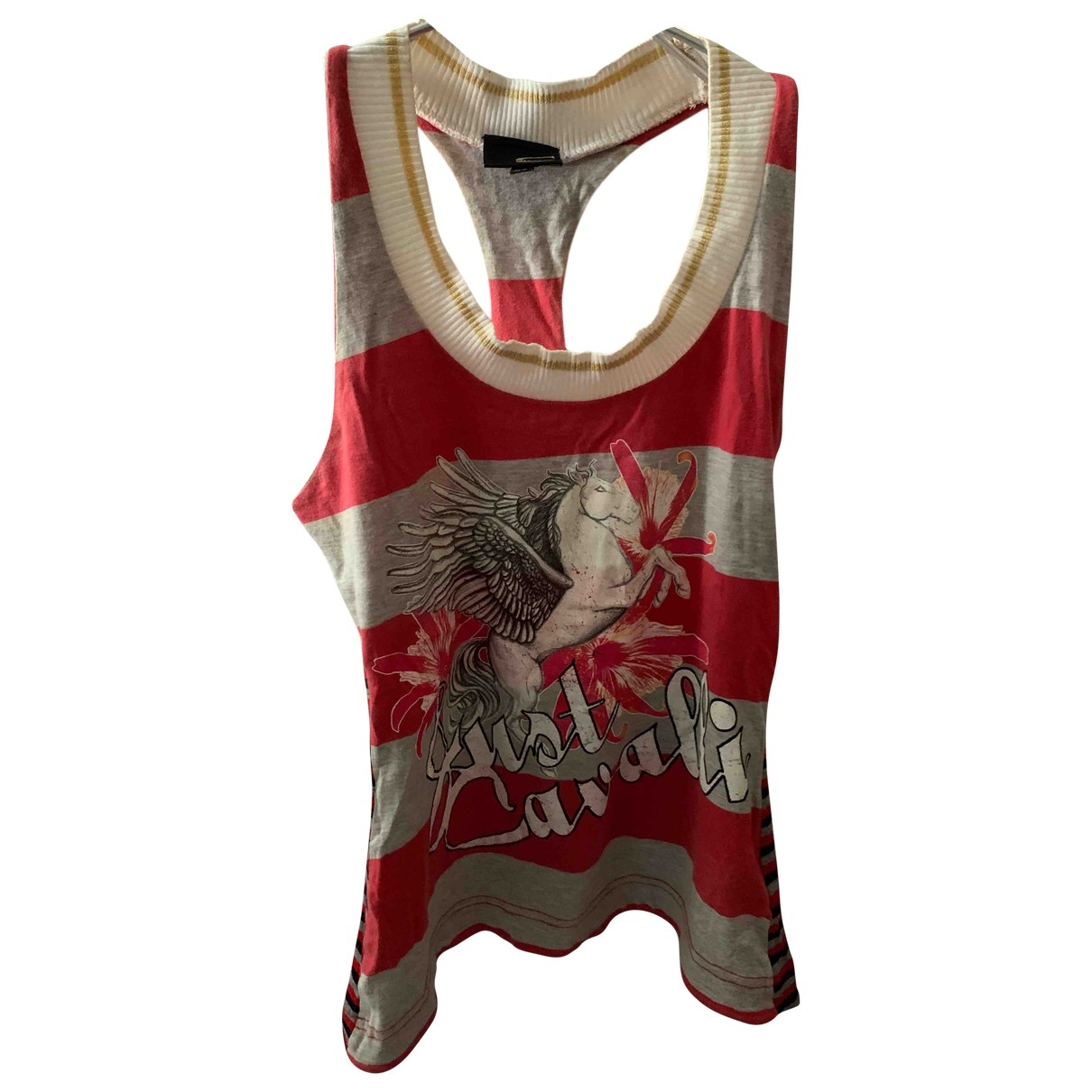 Just Cavalli \N Red Cotton  top for Women 40 IT