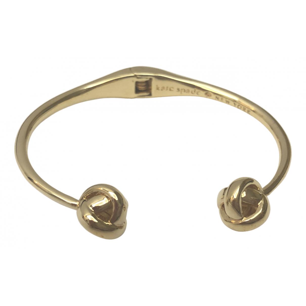 Kate Spade - Bracelet   pour femme en metal - dore
