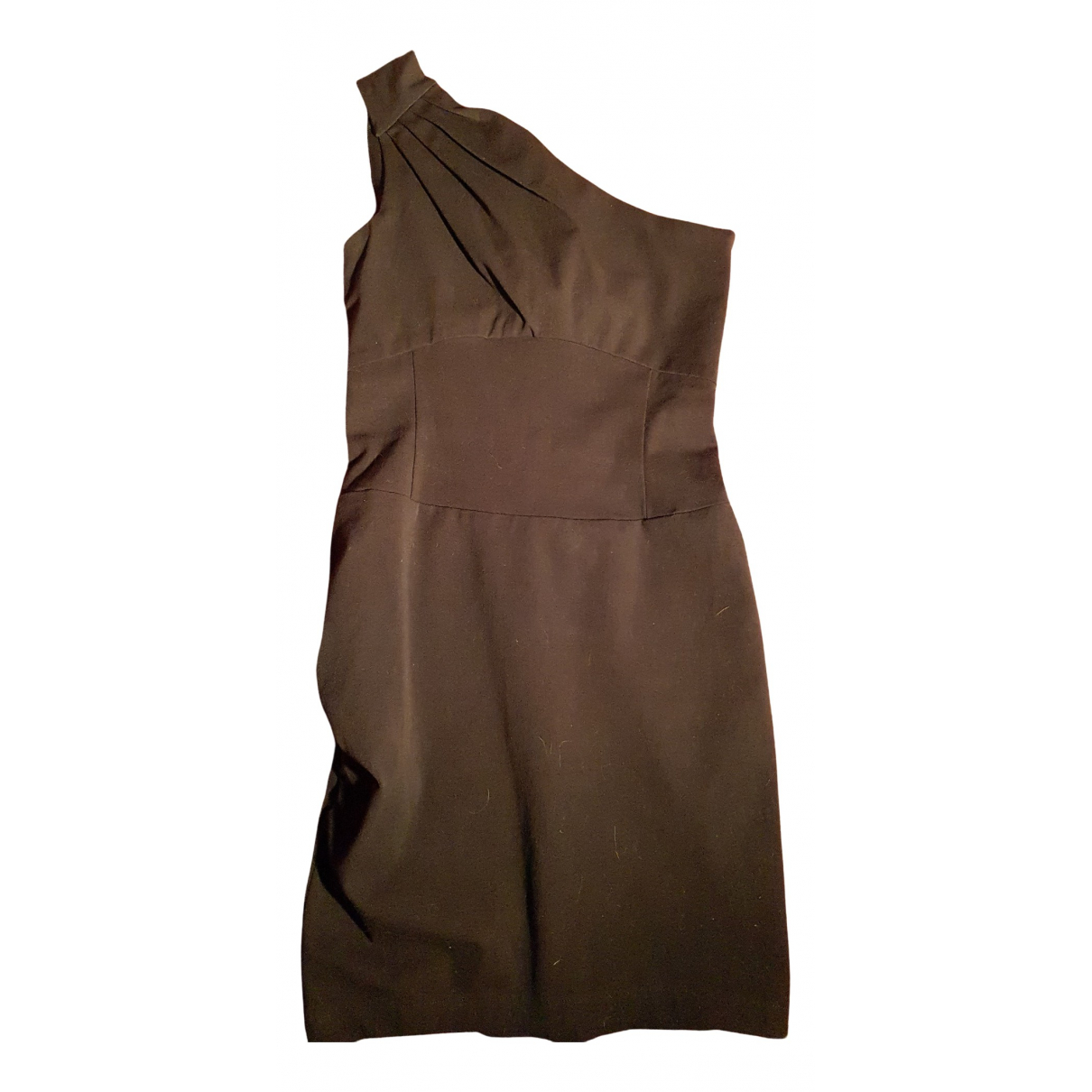 Maje N Black Cotton - elasthane dress for Women 32 FR