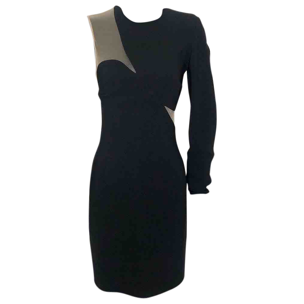 Stella Mccartney \N Kleid in  Schwarz Synthetik