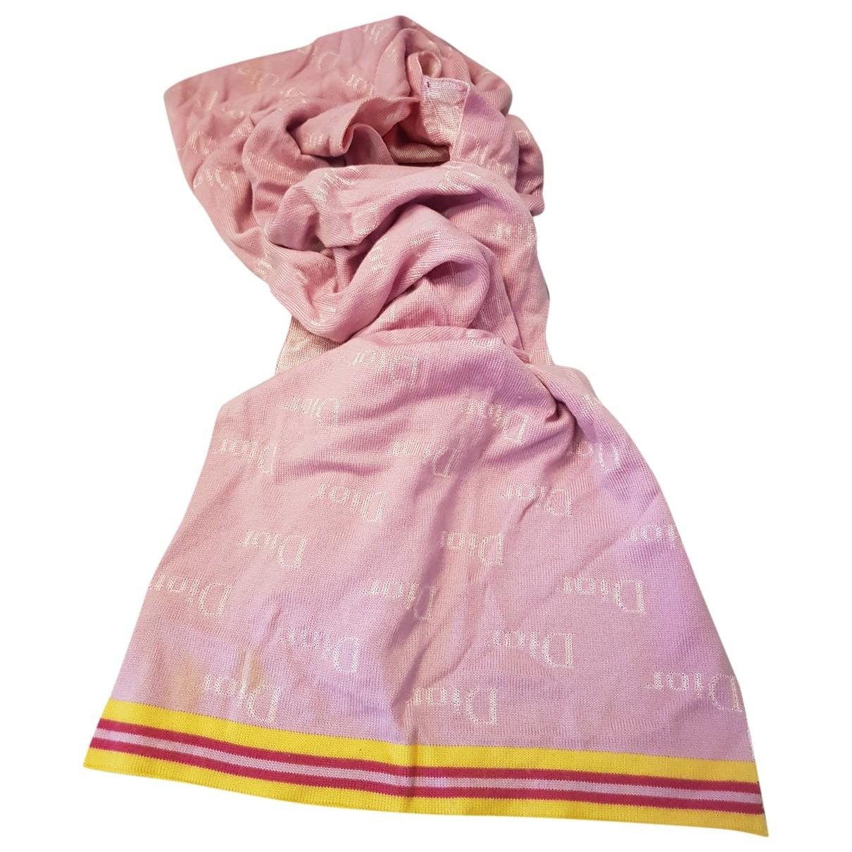 Dior \N Pink scarf for Women \N