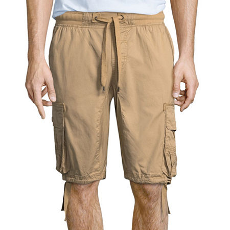 South Pole Mens Jogger Short, Small , Beige