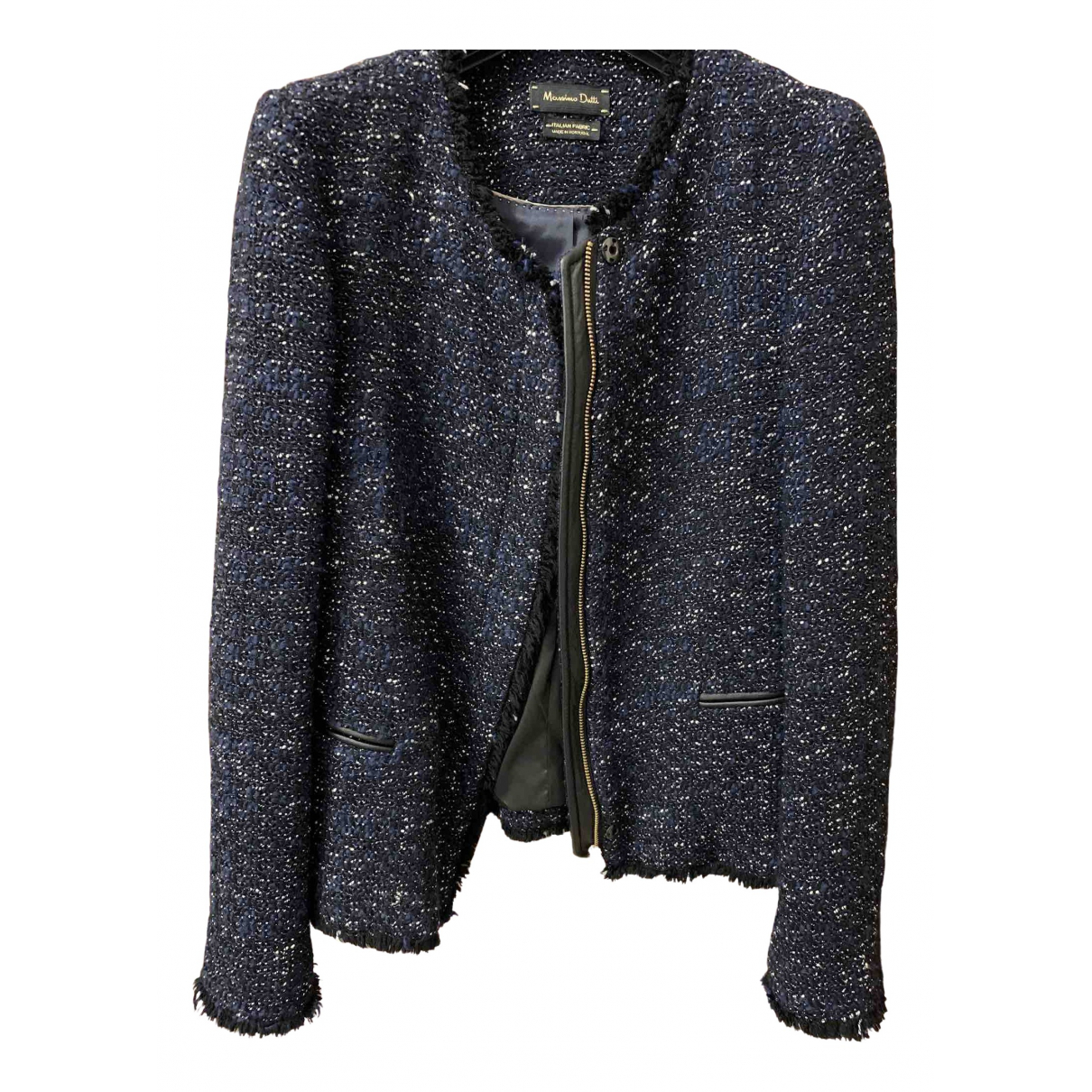 Blazer Tweed Massimo Dutti