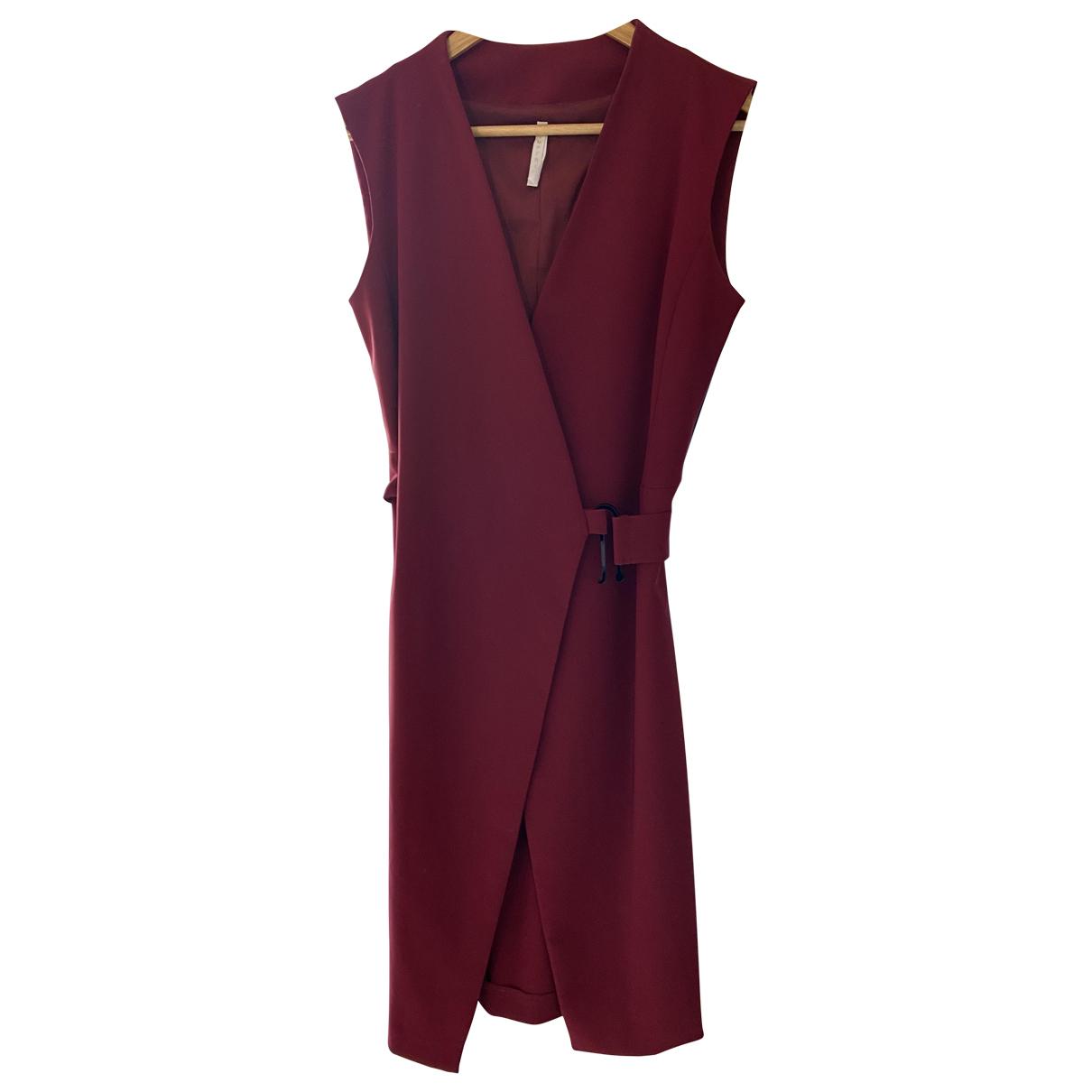 Imperial \N Kleid in  Bordeauxrot Polyester