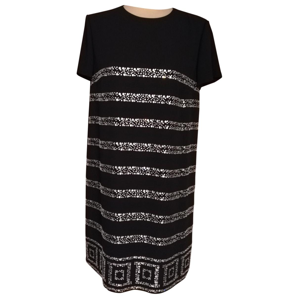 Versace \N Kleid in  Schwarz Polyester