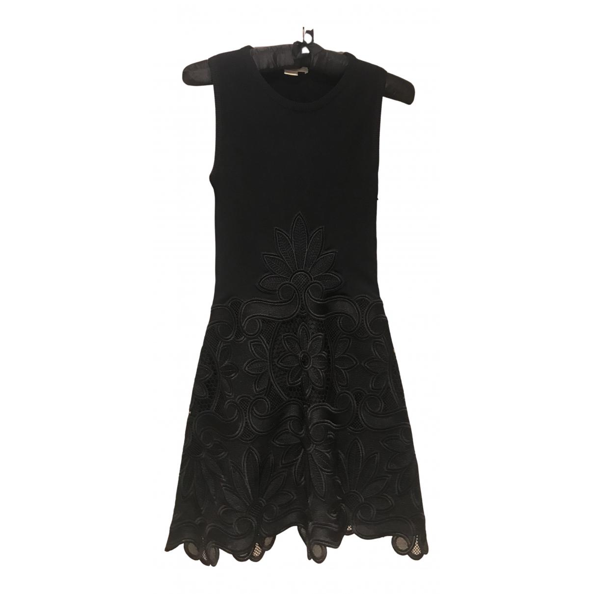 Antonio Berardi \N Kleid in  Schwarz Synthetik