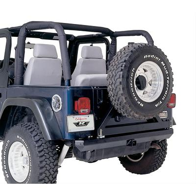 Rampage Roll Bar Pad and Cover Kit (Black) - 768715