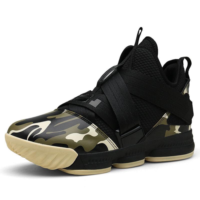 Ericdress Camouflage Velcro High-Cut Upper Men's Sneakers
