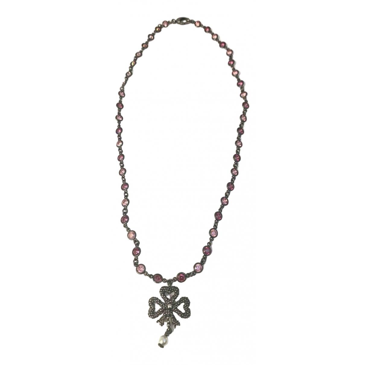 Gucci - Collier   pour femme en metal - rose