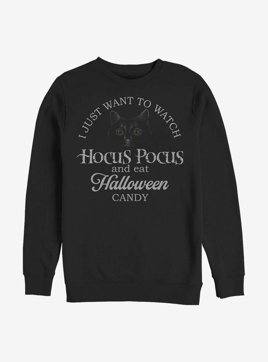 Disney Hocus Pocus Halloween Candy Rather Be Sweatshirt
