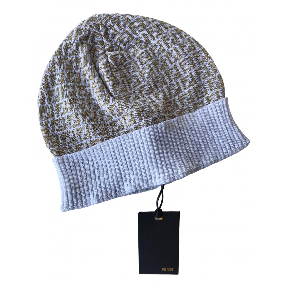 Fendi N Gold Cotton hat for Women L International