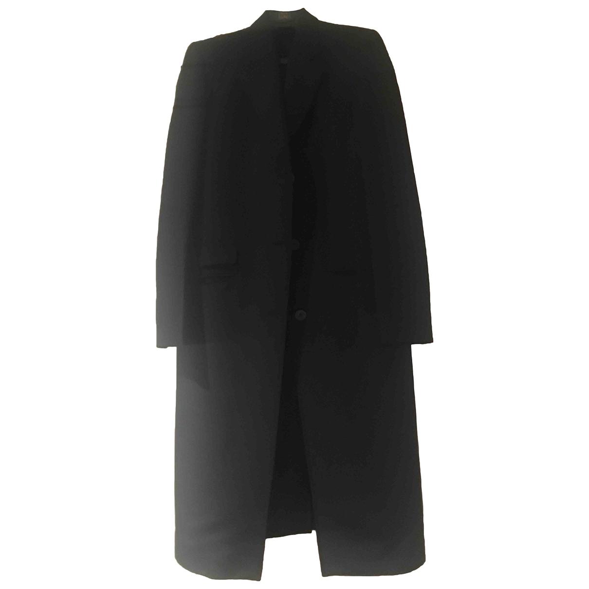 Gucci \N Black Silk coat for Women 40 IT