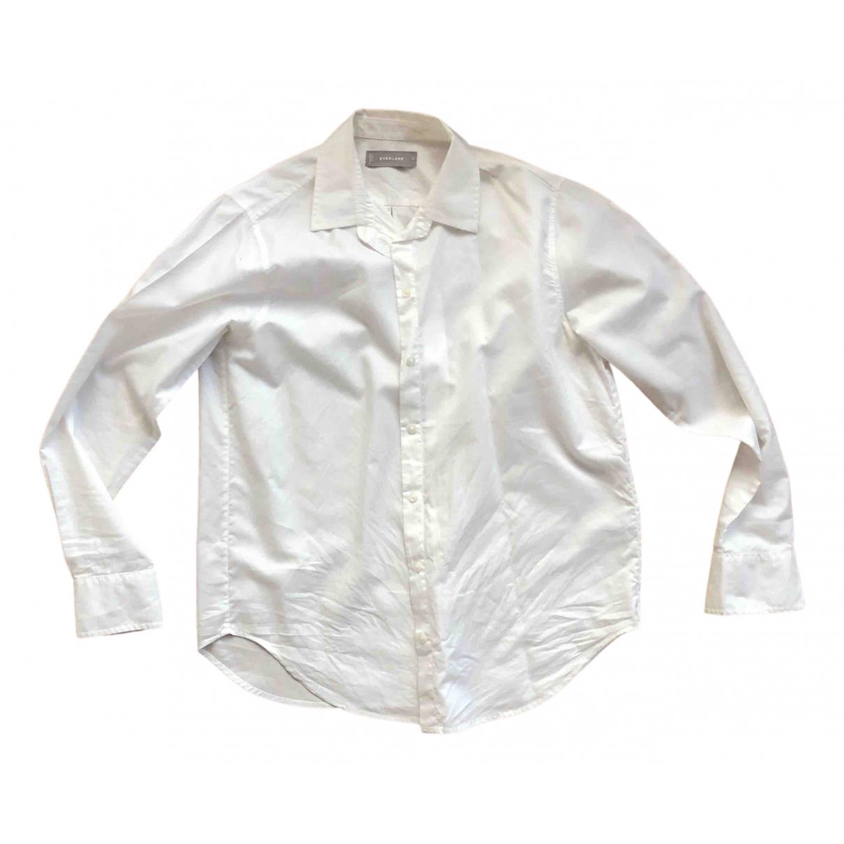 Everlane - Top   pour femme en coton - blanc
