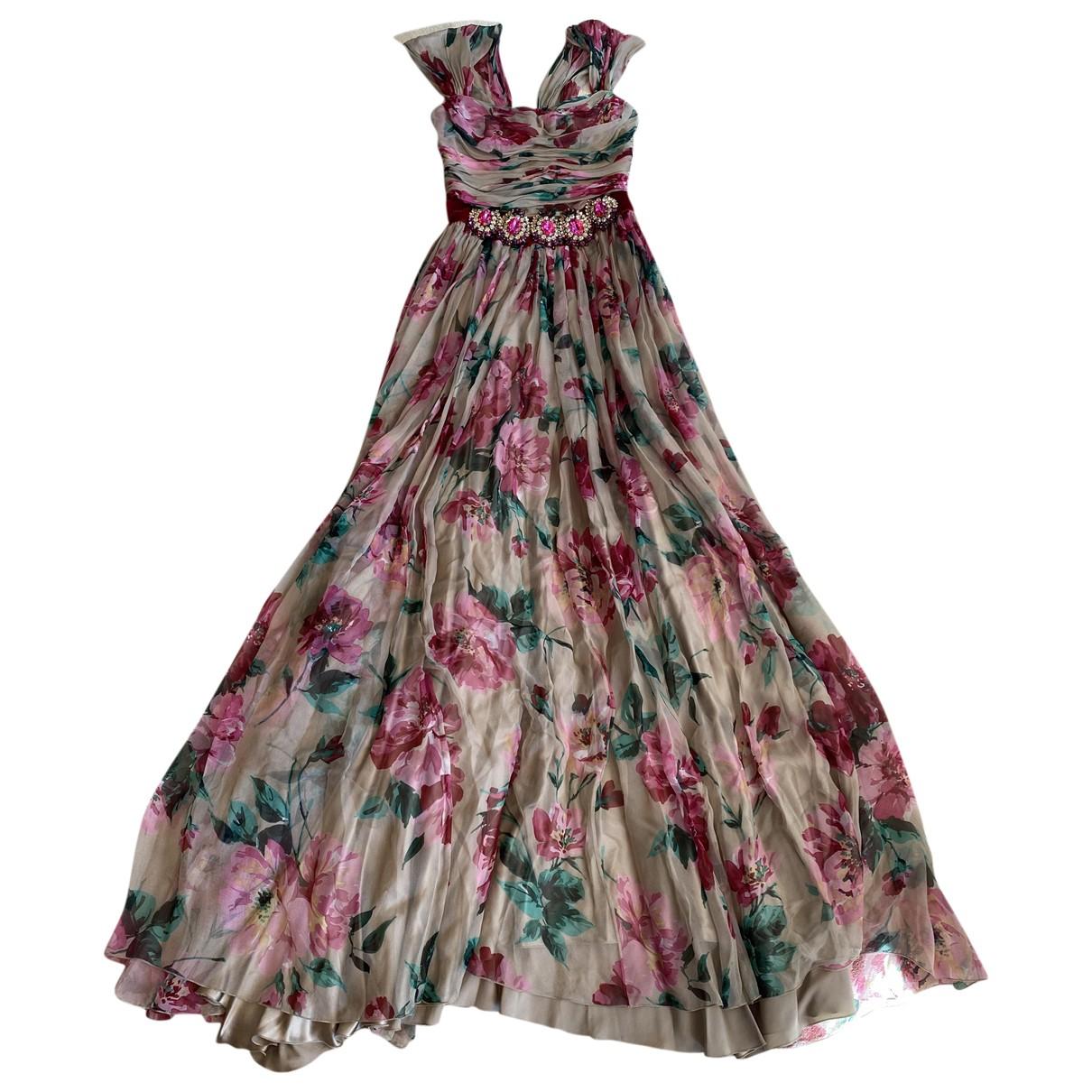 Maxi vestido de Seda Dolce & Gabbana