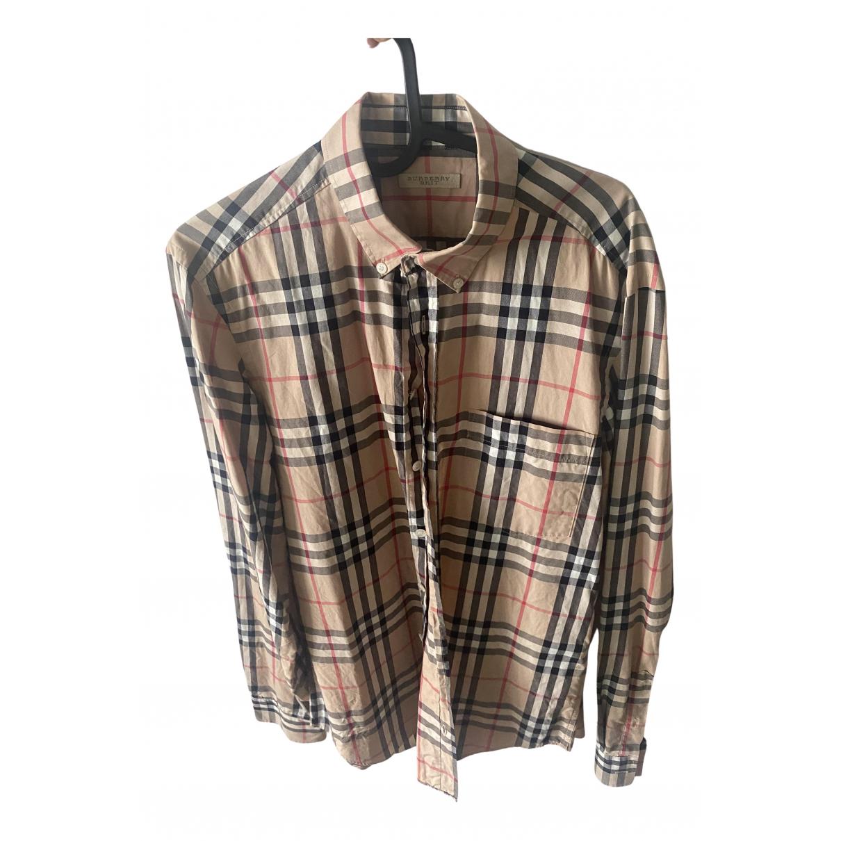 Burberry \N Hemden in  Beige Baumwolle